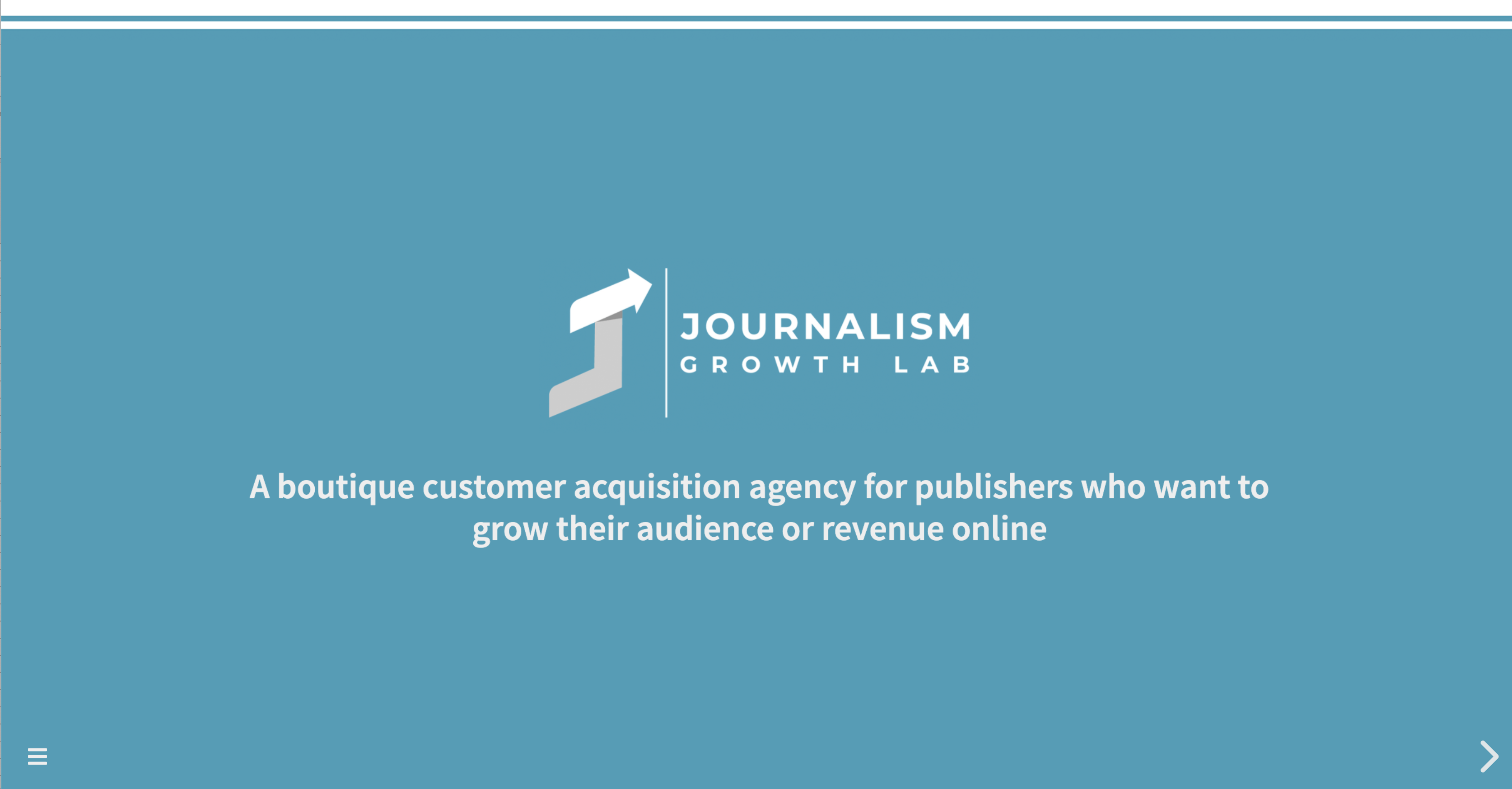 Journalism Growth Lab