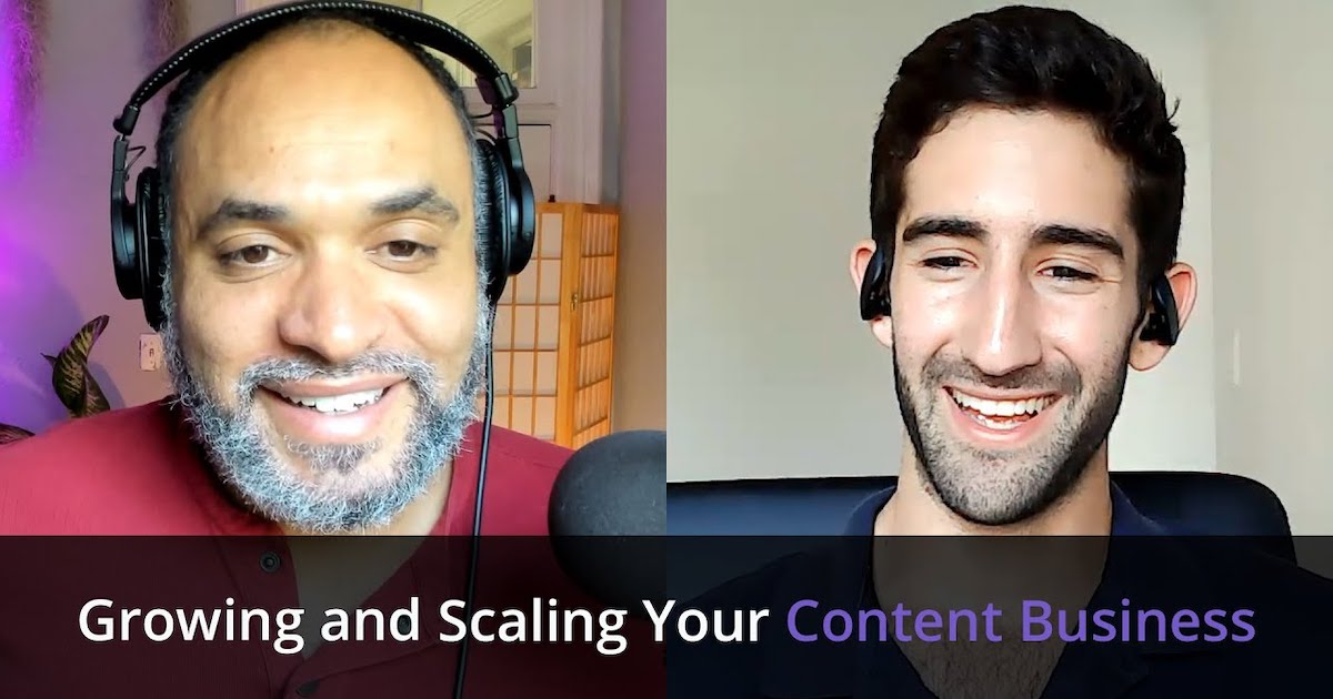 Episode 001: Josh Kaplan - Using Support Services To Grow and Scale Your Content Business