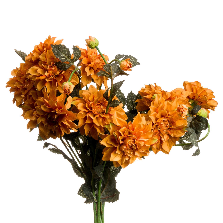 Orange Dahlia Spray