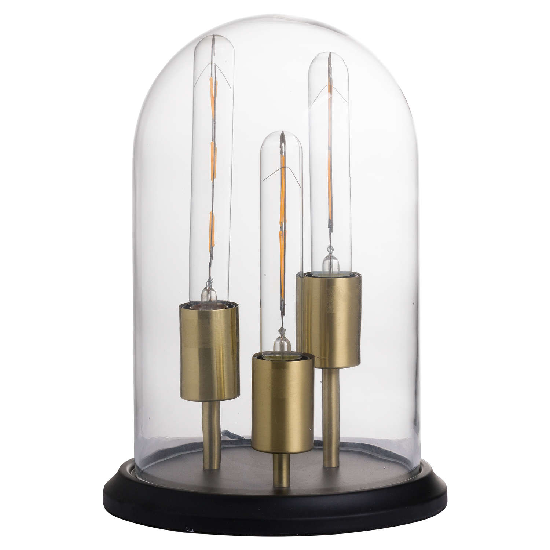 Vintage Industrial Triple Glow Lamp