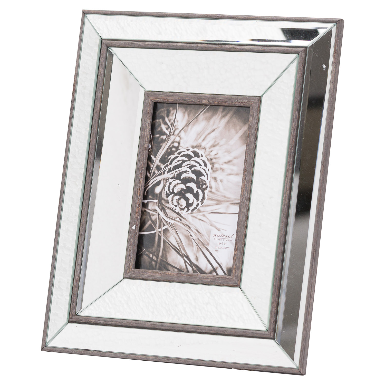 Tristan Mirror And Wood 4X6 Frame