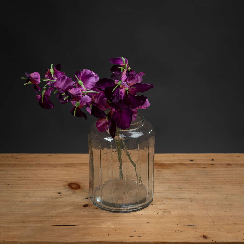 Purple Sweetpea Bouquet