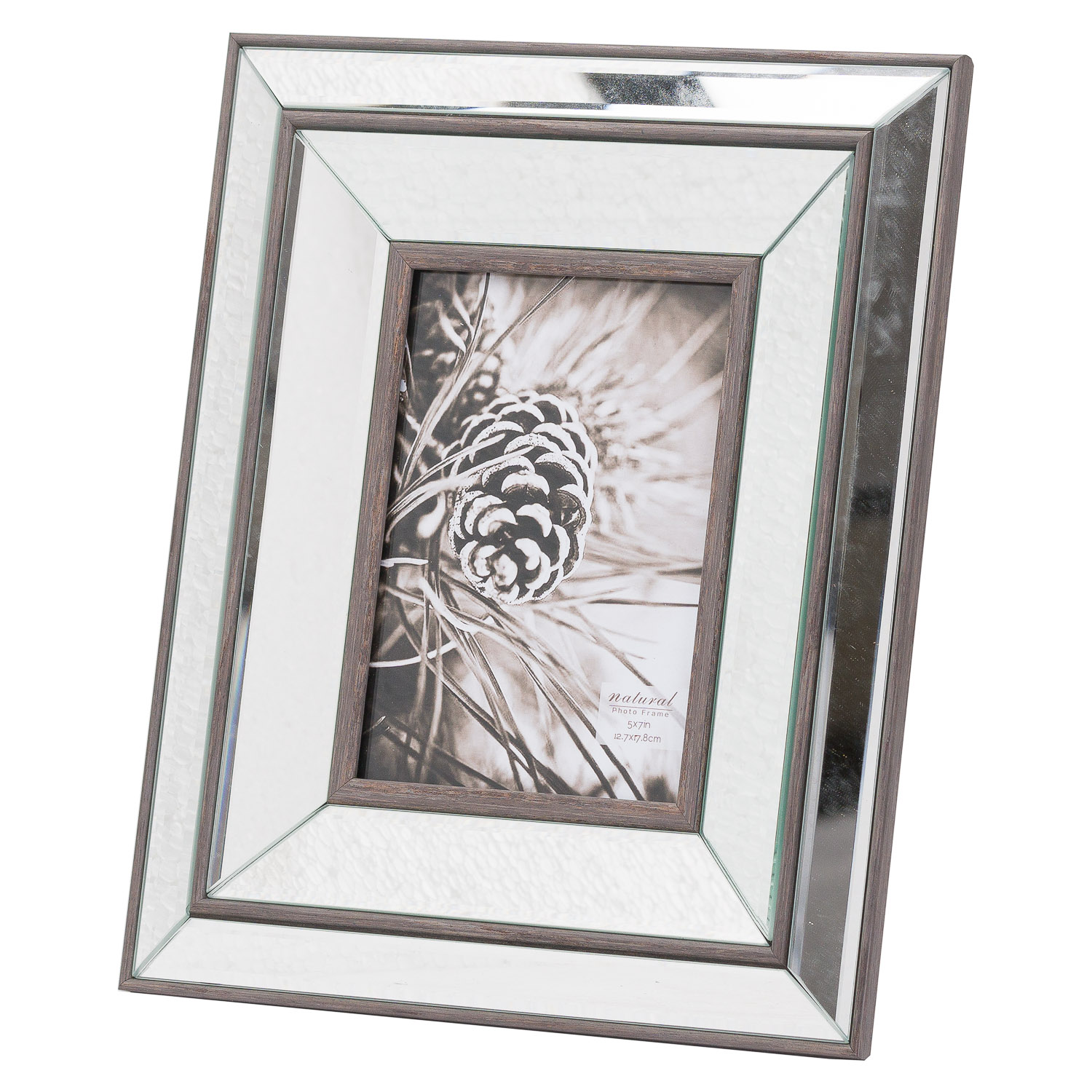 Tristan Mirror And Wood 5X7 Frame