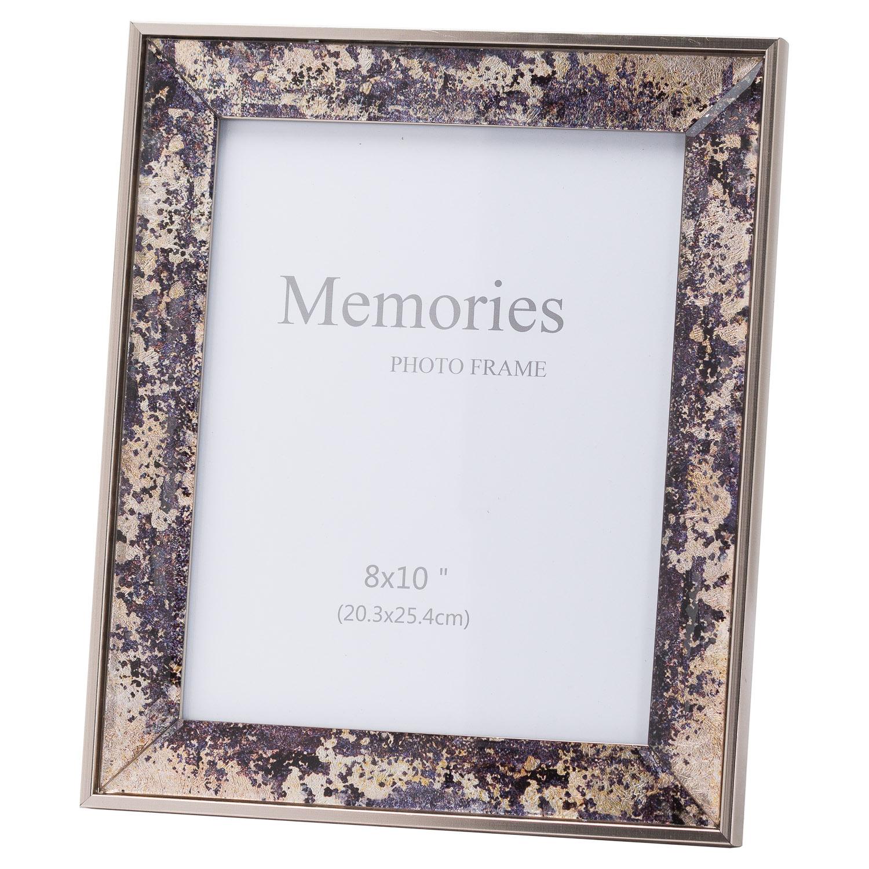 Bronze Foil Metallic 8X10 Frame