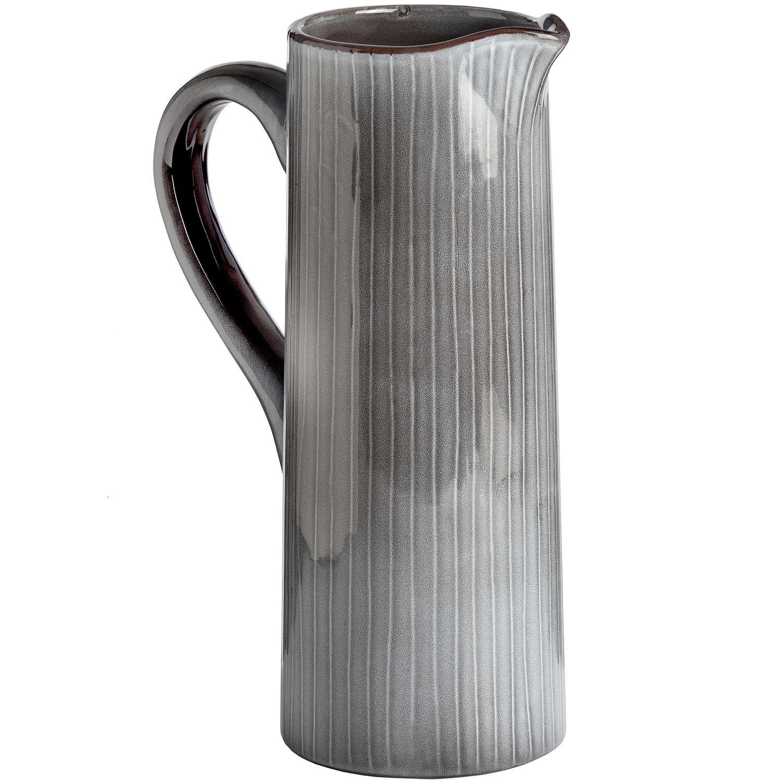 Grey Ceramic Display Jug