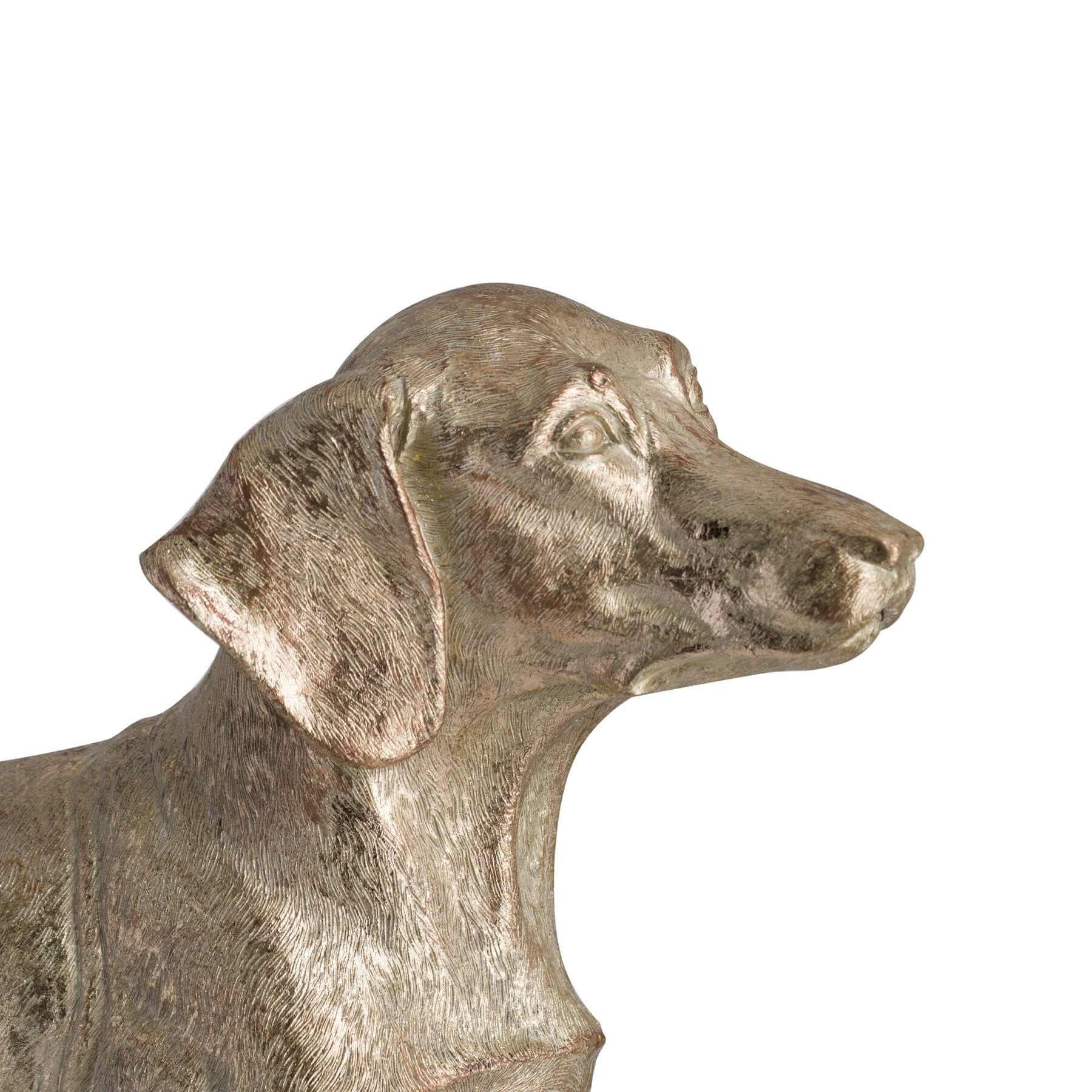 Bert The Dachshund Metallic Ornament