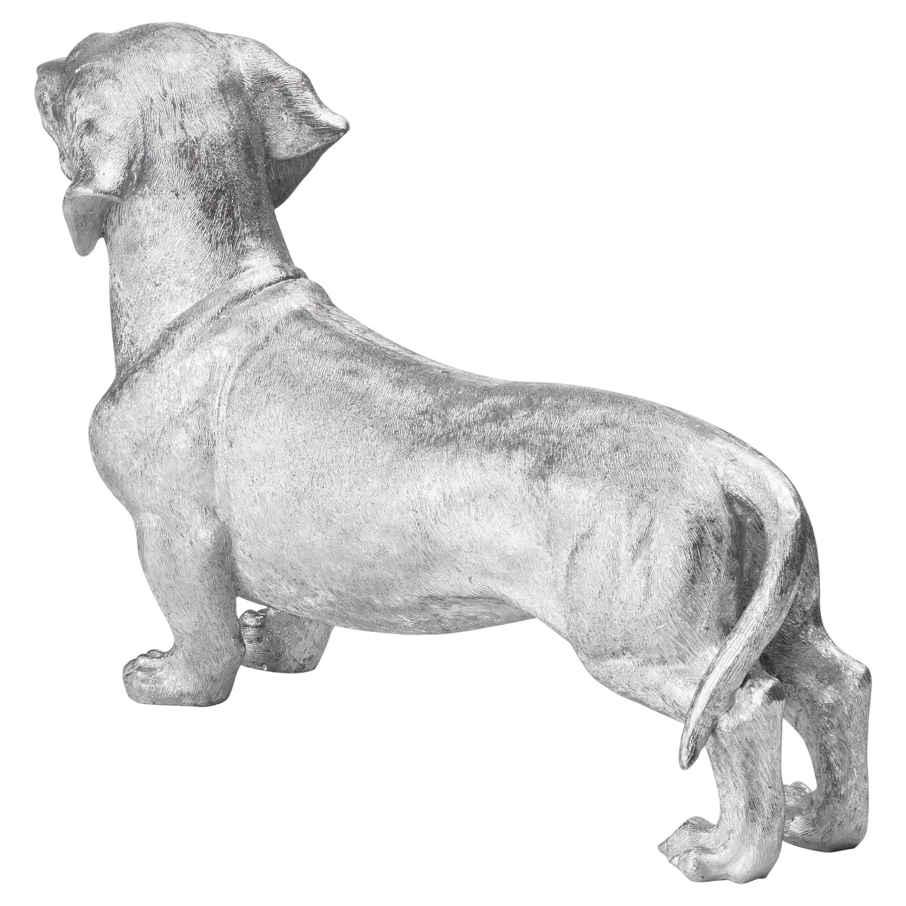Buddy The Dachshund Metallic Ornament