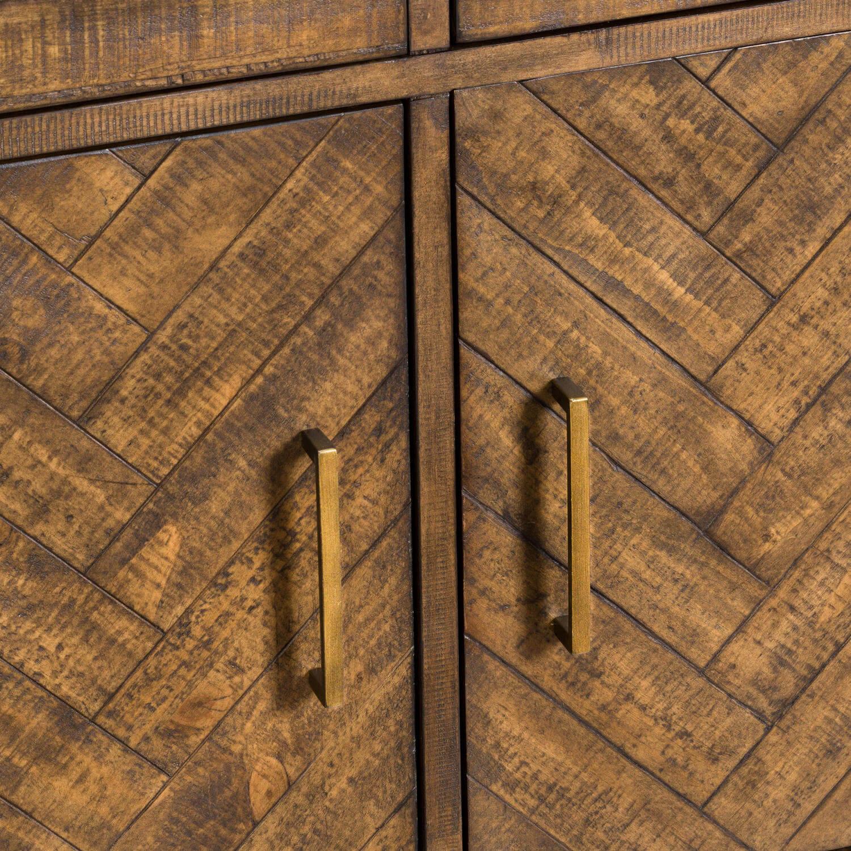 Havana Gold 2 Door 2 Drawer Sideboard