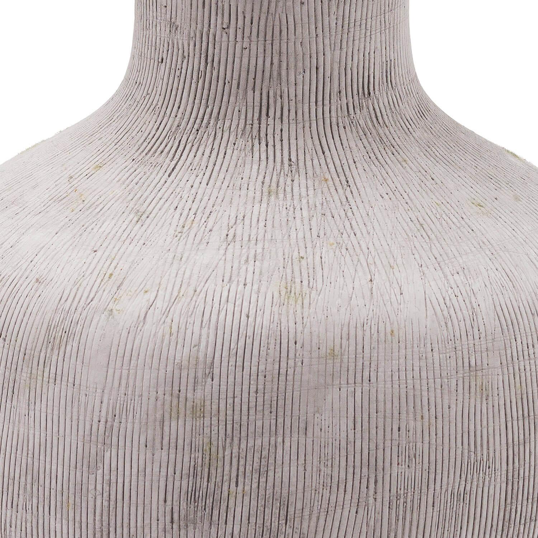 Bloomville Squat Stone Vase
