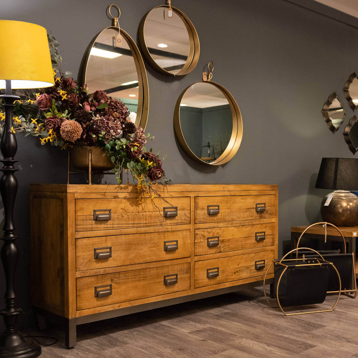 The Draftsman Collection Six Drawer Chest