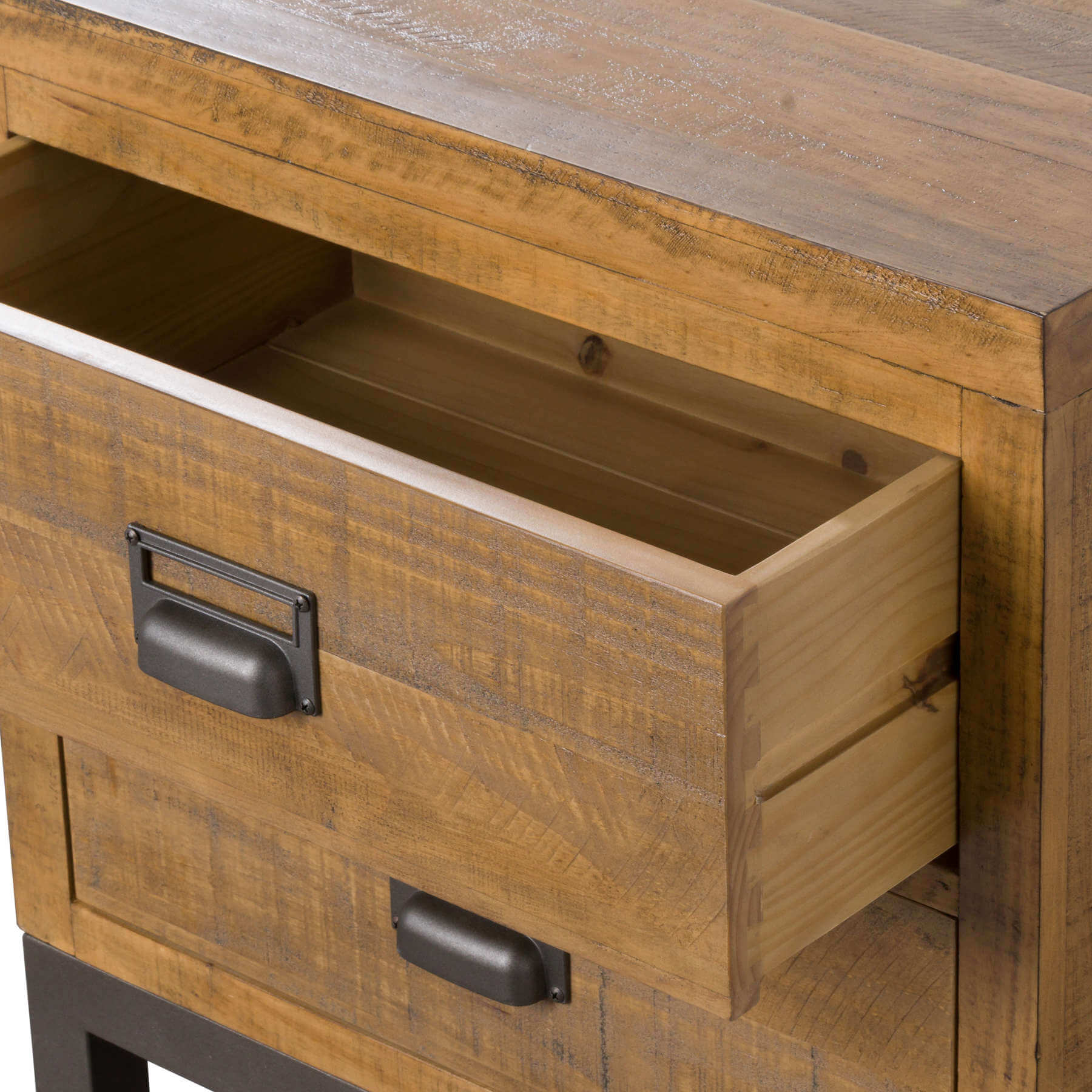 The Draftsman Collection Two Drawer Bedside