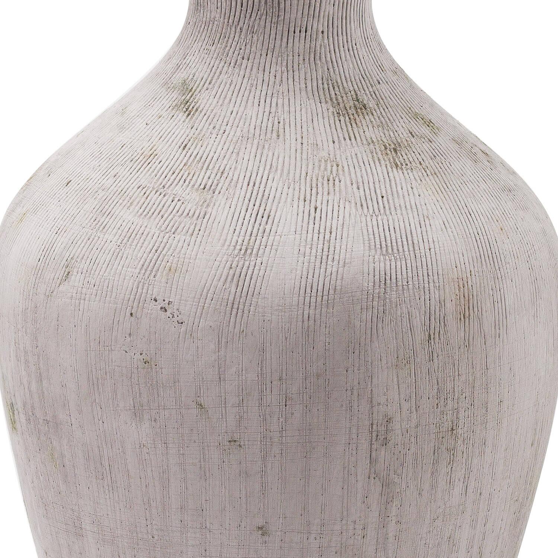 Bloomville Ellipse Stone Vase
