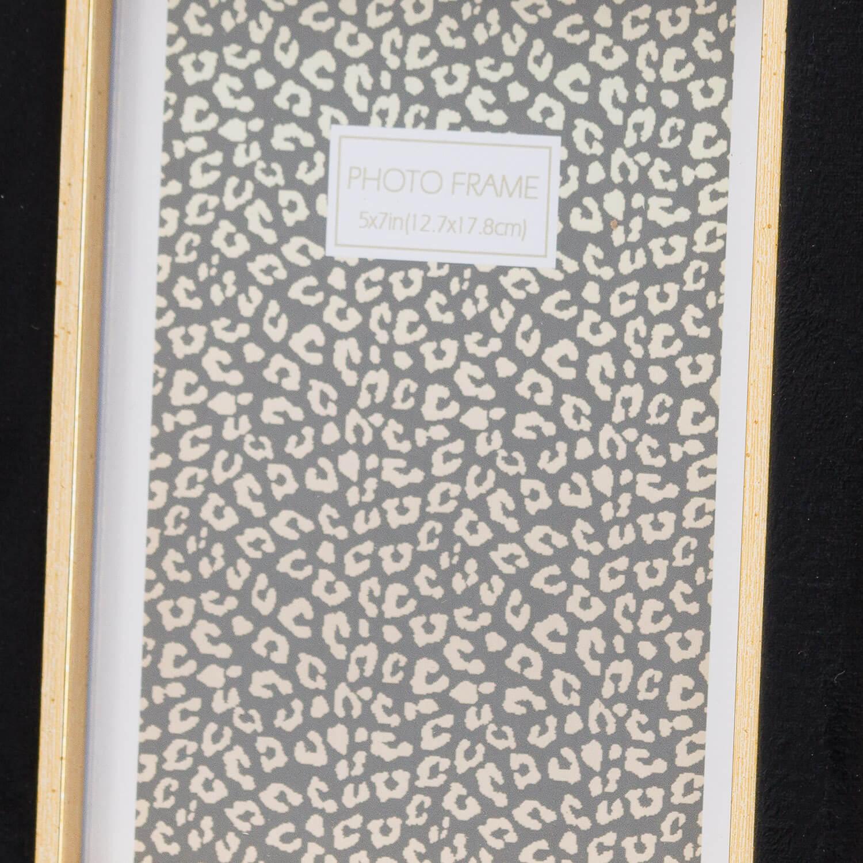 Black Velvet With Gold 5X7 Frame