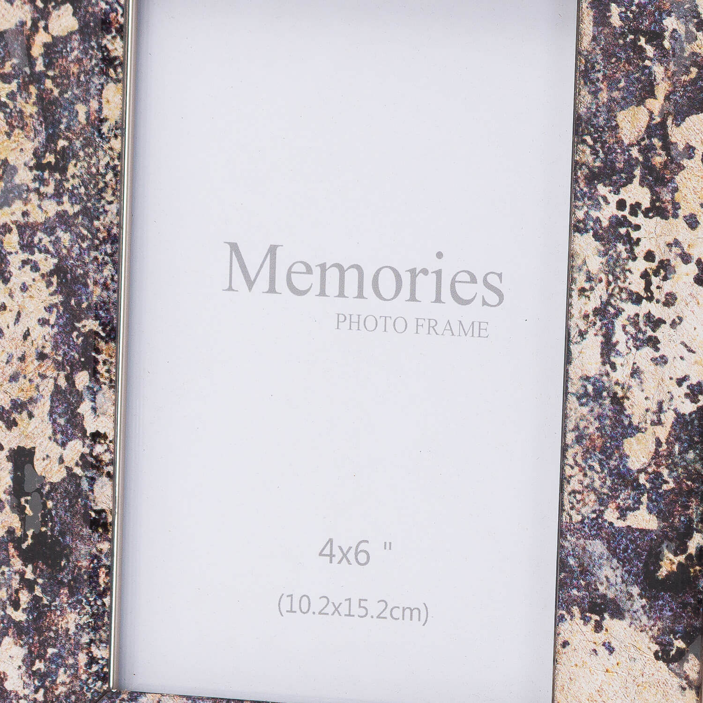 Bronze Foil Metallic 4X6 Frame