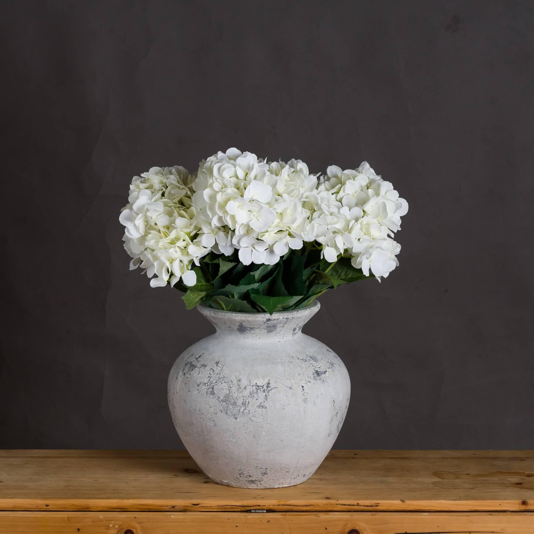 Darcy Antique White Vase
