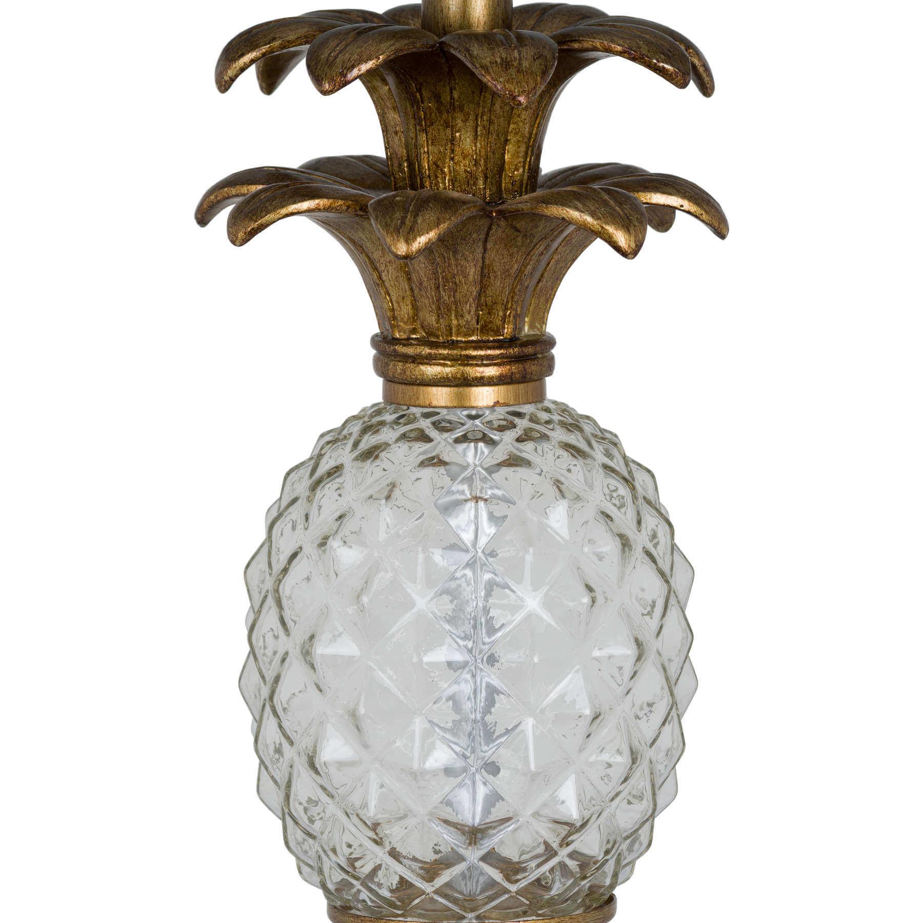 Ananas Glass Table Lamp