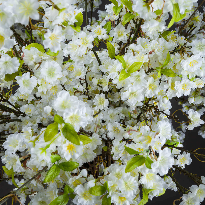 White Cherry Blossom Spray