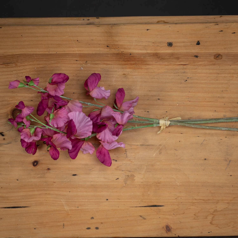Pink Sweetpea Bouquet
