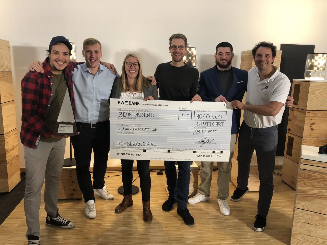 Sieg beim CyberOne Award