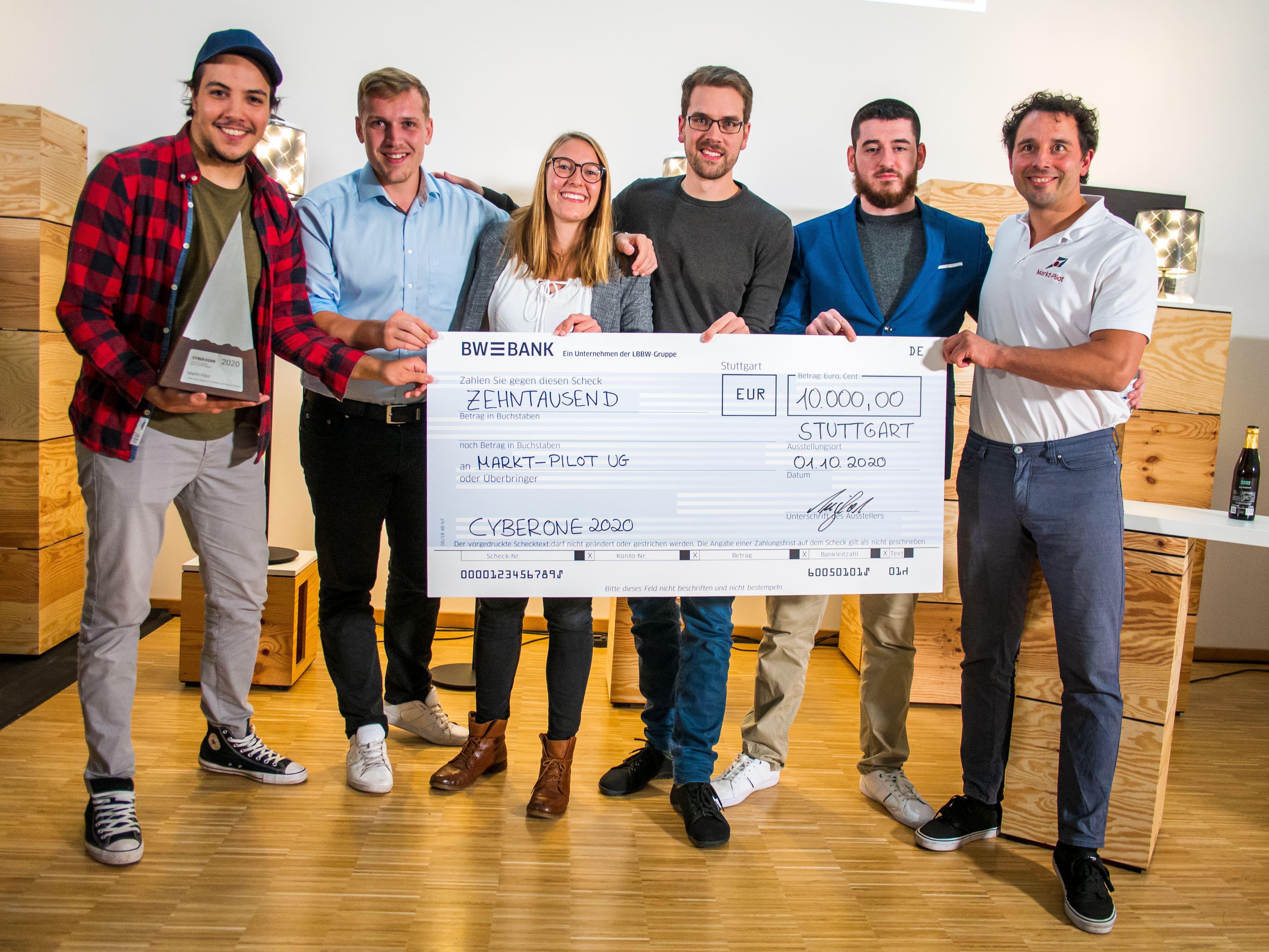 We won the CyberOne Award