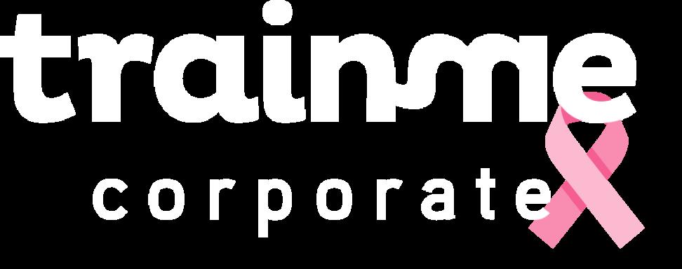 Logo de TrainMe Corporate pour Octobre Rose