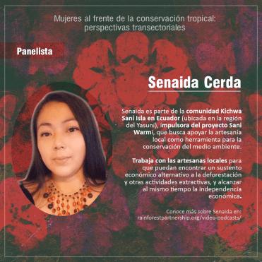 Senaida Cerda's bio