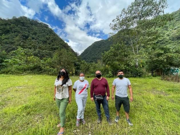 Rainforest Partnership Peru Team