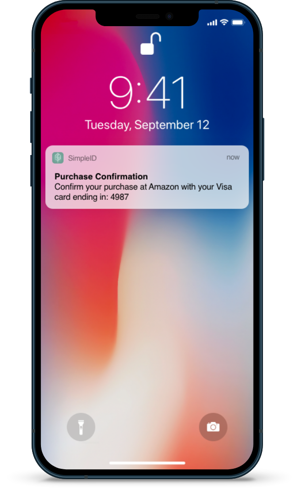 Simple ID SimpleID Transaction Identity Services identity notification