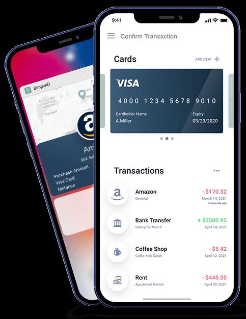 Simple ID SimpleID Transaction Identity Services identity notification Verified transaction