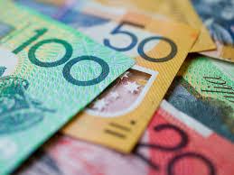 Range of Australian dollar notes
