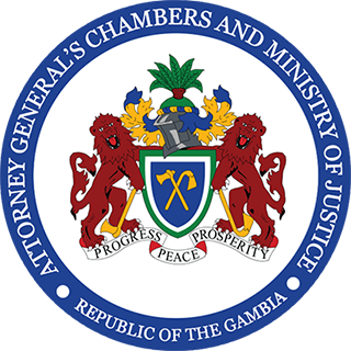 Atterney General's Chambers and Ministry of Justice logo