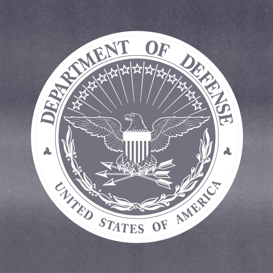 Department of Defense logo.