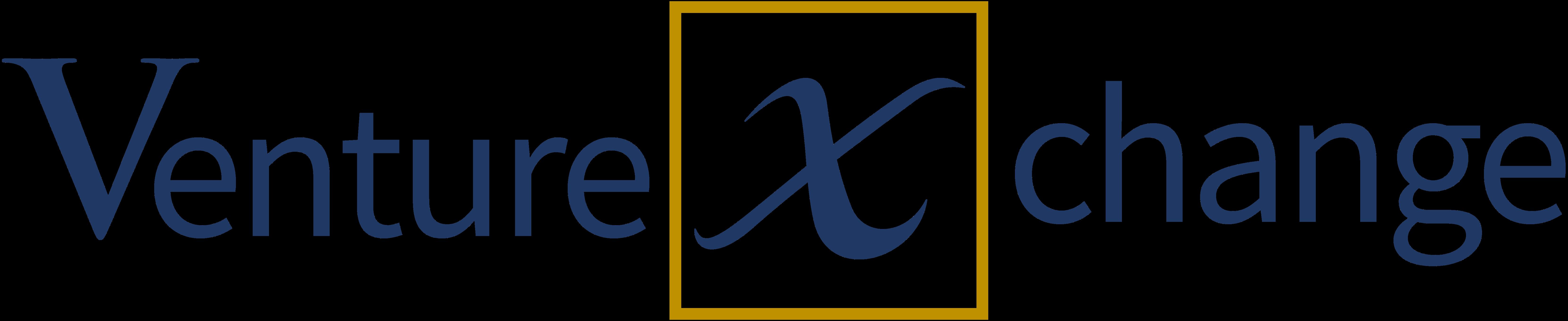 Venturexchange logo blue
