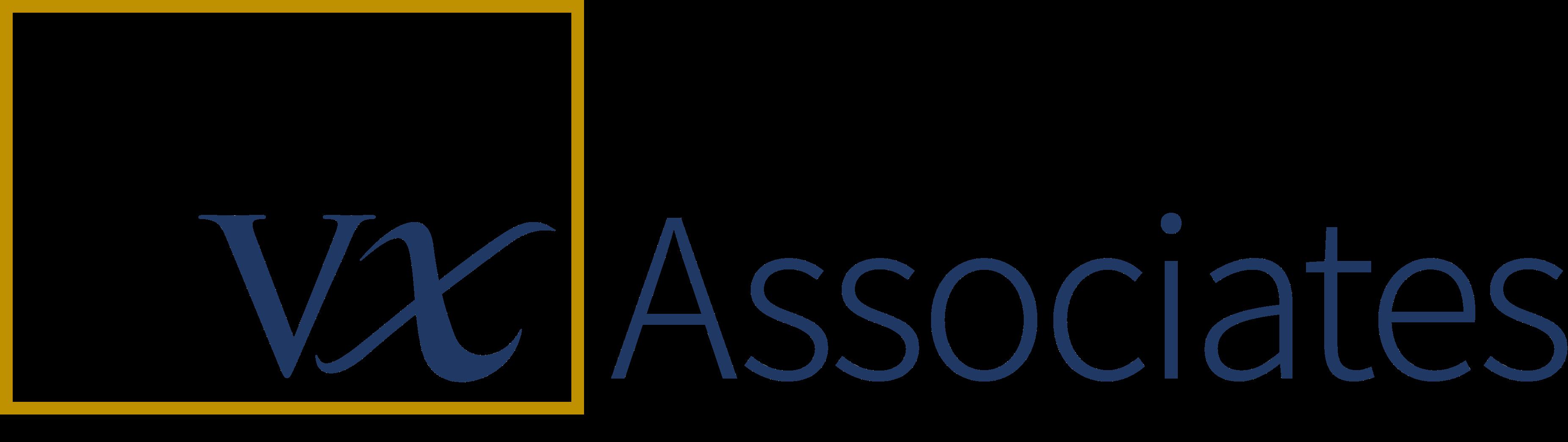 VX Associates Blue logo