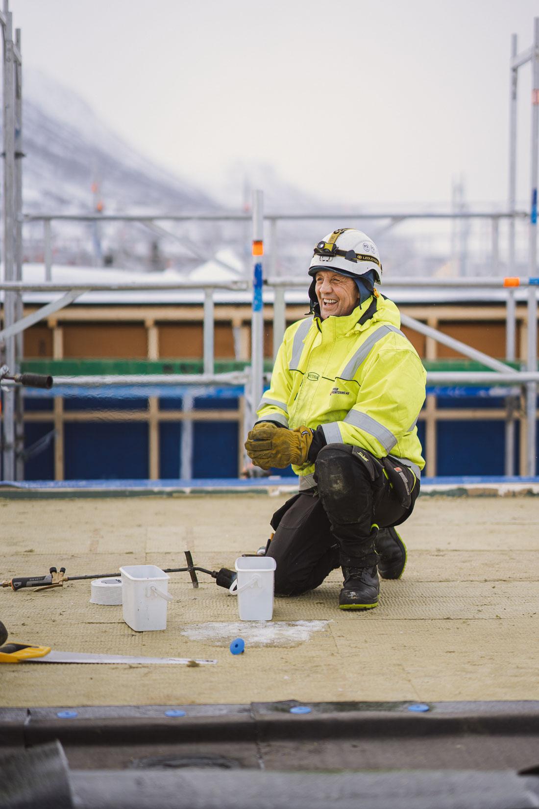 Takmontering i Tromsø