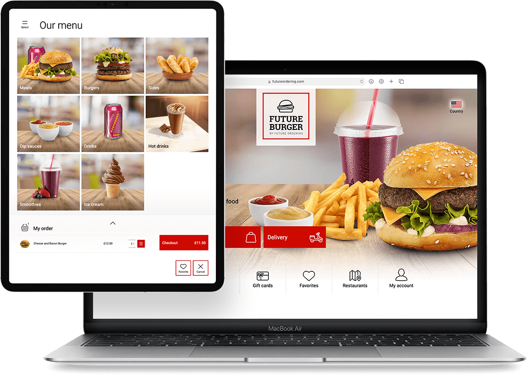 Future Ordering Web Ordering Channel