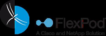 Logo der Libelle AG und Logo von FlexPod