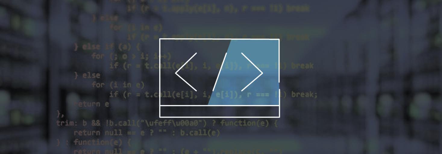 Icon für Programmiersprache - Taskfenster mit </>
