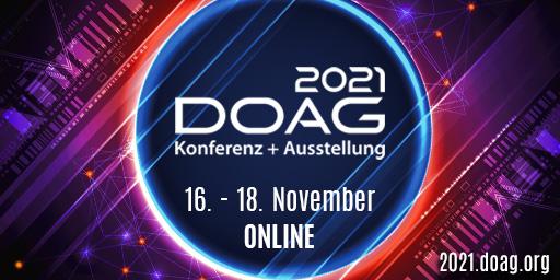 Banner DOAG 2021