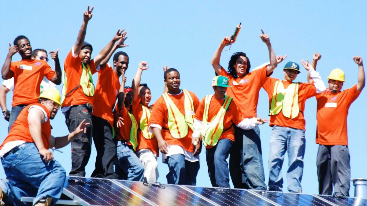 Black clean energy entrepreneurs should be at the heart of the American Jobs Plan