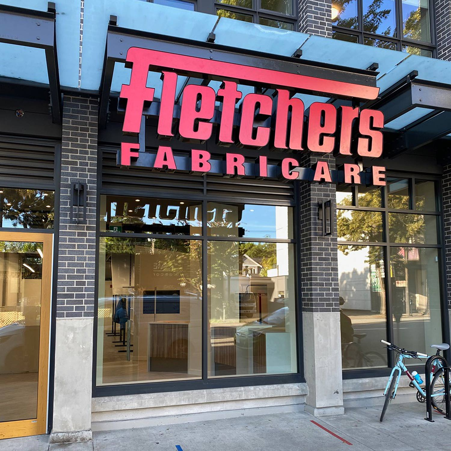 Fletchers Fabricare Store Location on West Broadway in Vancouver