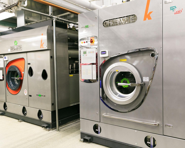 Fletchers Fabricare environmentally friendly Kreussler Systemk4 Machines
