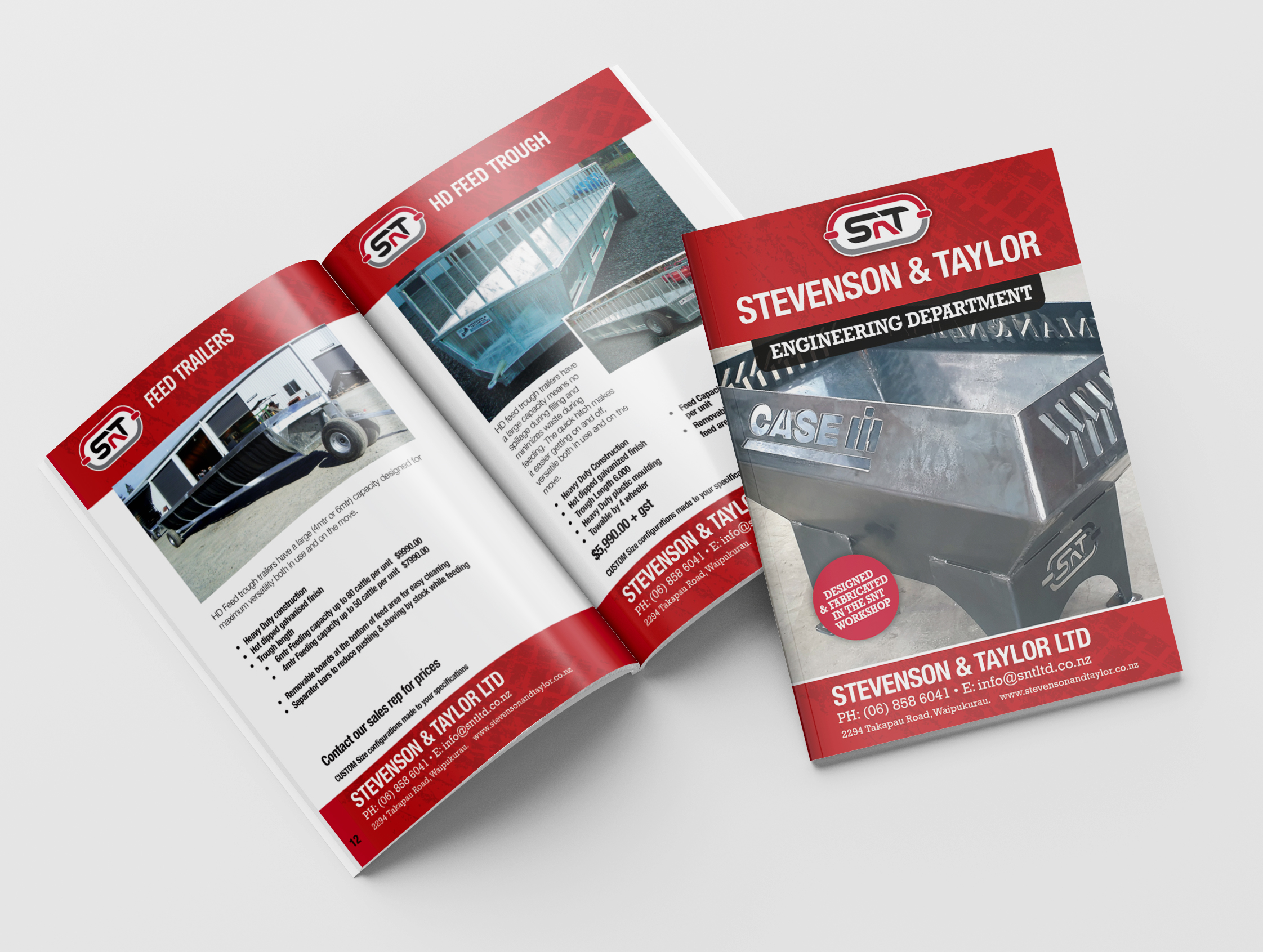 stevenson & taylor brochure