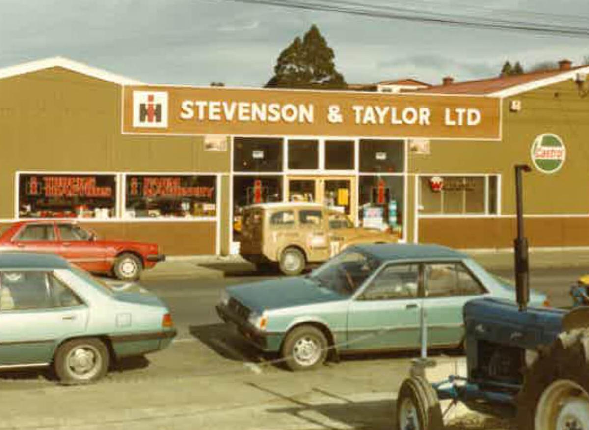 Stevenson & Taylor history