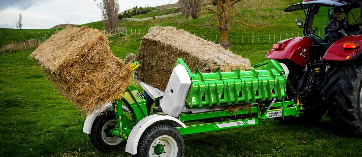 Hustler farming equipment