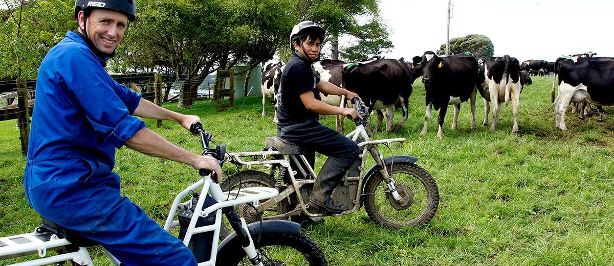 UBCO electric bikes