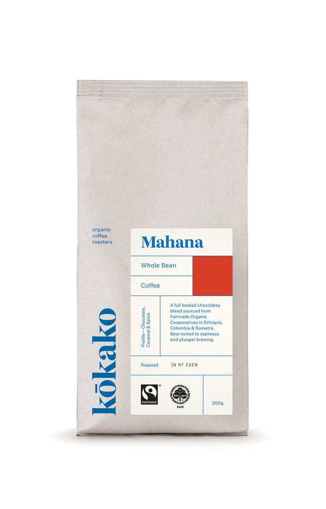 Kōkako Mahana Blend - Organic Fairtrade