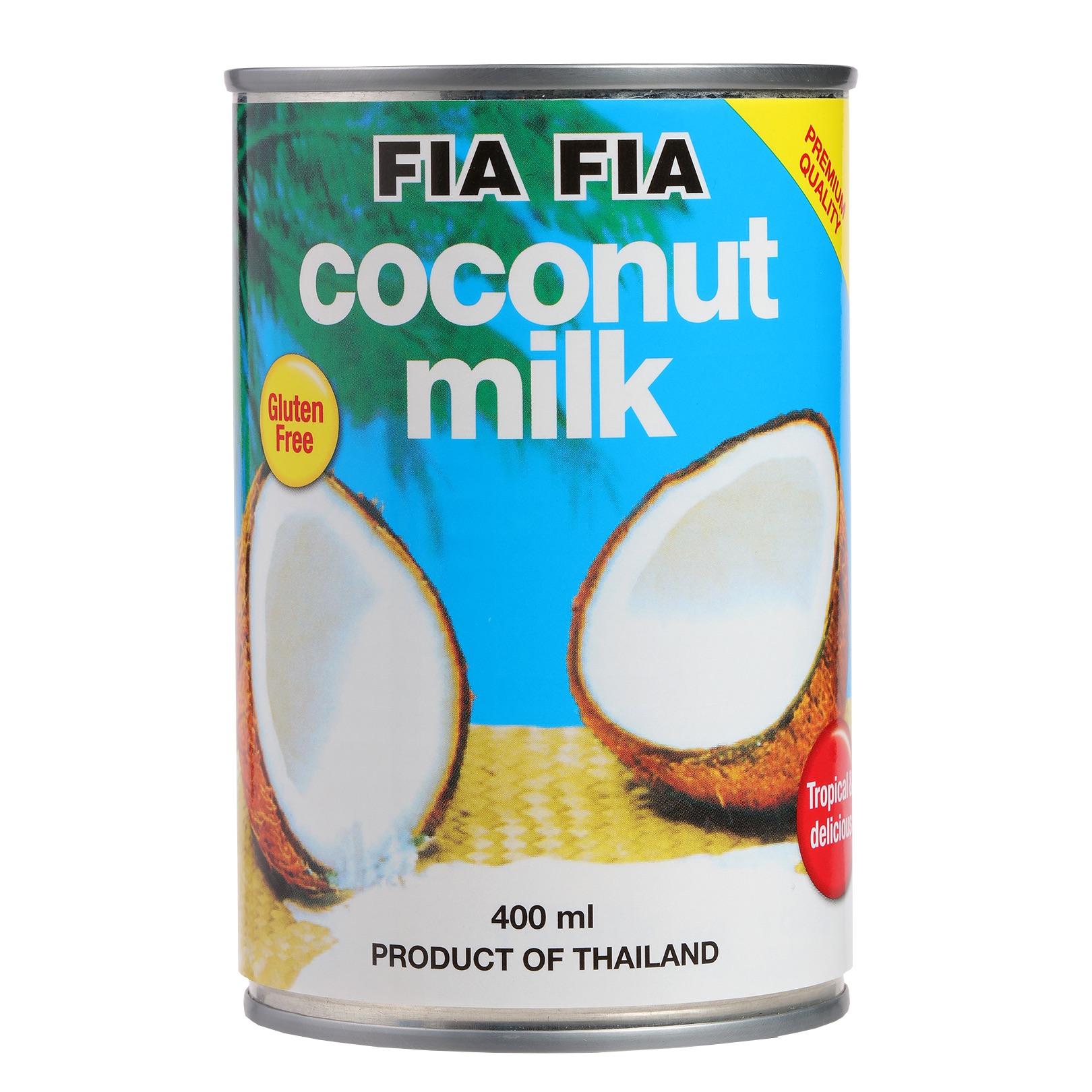 Coconut milk or cream (FIa Fia)