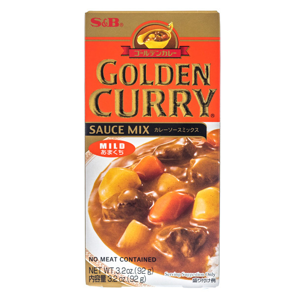 S&B Japanese Curry mix 100g
