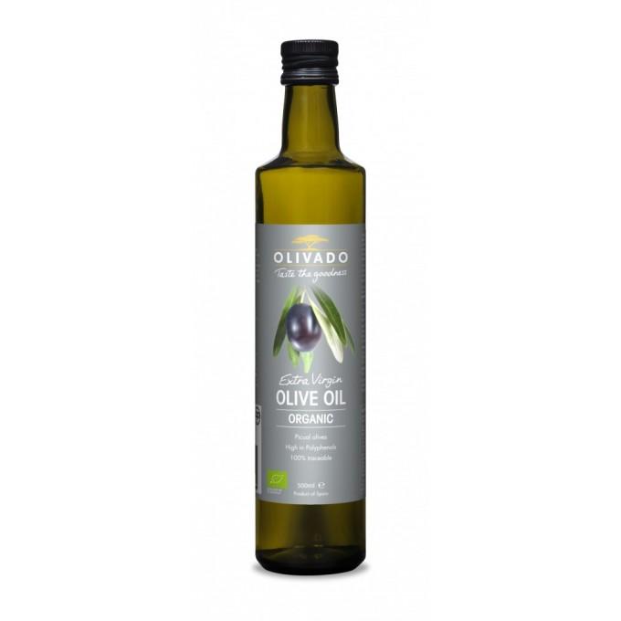 Olivado Extra Virgin Organic Olive Oil (500ml)
